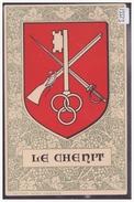 DISTRICT DE LA VALLEE - LE CHENIT - ARMORIAL DE LA COMMUNE - TB - VD Vaud