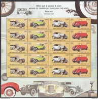 INDIA, 2017, TRANSPORT,set Of 6 Different Sheets,20 Different Stamps,total 120 Stamps,(6 SCANS) MNH (**)