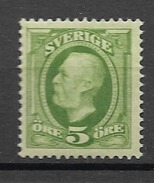 1889 MNH Sweden,