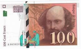 100 Francs Cézanne 1998, Fayette 74.02 P158,N° A065024956, Etat : NEUF - 1992-2000 Dernière Gamme