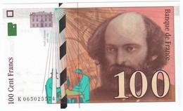 100 Francs Cézanne 1998, Fayette 74.02 P158,N° K065025574, Etat : NEUF - 1992-2000 Dernière Gamme
