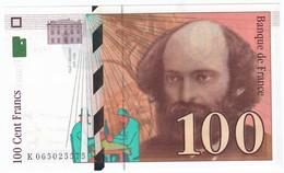 100 Francs Cézanne 1998, Fayette 74.02 P158,N° K065025575, Etat : NEUF - 1992-2000 Dernière Gamme