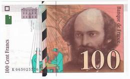 100 Francs Cézanne 1998, Fayette 74.02 P158,N° K065025576, Etat : NEUF - 1992-2000 Dernière Gamme