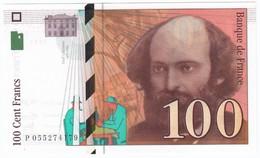 100 Francs Cézanne 1998, Fayette 74.02 P158,N° P055274179, Etat : NEUF - 1992-2000 Dernière Gamme