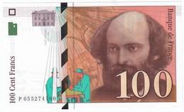 100 Francs Cézanne 1998, Fayette 74.02 P158,N° P055274180, Etat : NEUF - 1992-2000 Dernière Gamme
