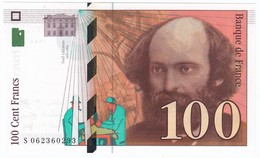 100 Francs Cézanne 1998, Fayette 74.02 P158,N° S062360293, Etat : NEUF - 1992-2000 Dernière Gamme