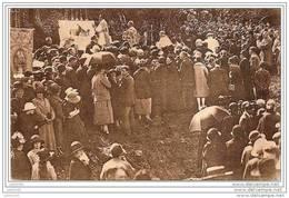 ROSSIGNOL ..-- TINTIGNY ..--  1er Juin 1925 . Inauguration Du Monument . La Messe . Vers ANVERS En 1925 .. - Tintigny