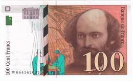 100 Francs Cézanne 1998, Fayette 74.02 P158,N° W064567007, Etat : NEUF - 1992-2000 Dernière Gamme