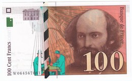 100 Francs Cézanne 1998, Fayette 74.02 P158,N° W064567061, Etat : NEUF - 1992-2000 Dernière Gamme