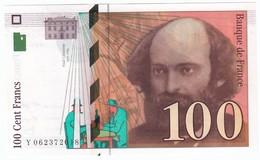 100 Francs Cézanne 1998, Fayette 74.02 P158,N° Y062372018, Etat : NEUF - 1992-2000 Dernière Gamme