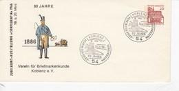 """PU 25/13a  Jubiläums-Ausstellung """"confluentia"""" 1966 - 80 Jahre Verein Für Briefmarkenkunde Koblenz E.V. - [7] República Federal"""