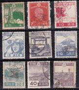 Japon 1942-1946 N° Y&T : 326,328 à 332,334 à 361 Obl.