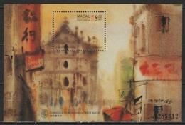 Macao - Macau (1997) Yv. Bf. 42  /   Art - Paintings - Peintres - Bateaux - Ships