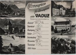 Feriengrüsse Für Schreibfaule Aus Vaduz - Liechtenstein