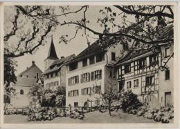 Regensberg - Partie Aus Der Oberburg Mit Engelfridhaus - Photo: Wolgensinger - ZH Zurich