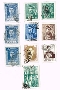 Iran , Reza Shah  10x Stamps - Iran