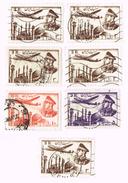 Iran , Reza Shah  7x Stamp - Iran