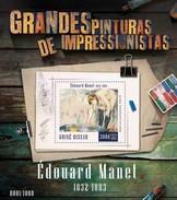 GUINE BISSAU 2015 SHEET EDOUARD MANET ART PAINTINGS ARTE PINTURAS Gb15802b - Guinea-Bissau