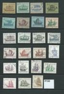 Poland 1963-64 Sailing Ships 23 Values To 3z40