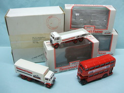 EFE - Coffret Set 3 AEC MAMMOTH Camion Bus FISHERMAN'S FRIEND BO 1/76 OO - Cars & 4-wheels