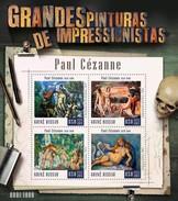 GUINE BISSAU 2015 SHEET PAUL CEZANNE ART PAINTINGS ARTE PINTURAS Gb15805a - Guinea-Bissau
