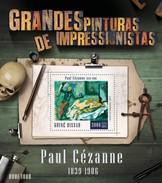 GUINE BISSAU 2015 SHEET PAUL CEZANNE ART PAINTINGS ARTE PINTURAS Gb15805b - Guinea-Bissau