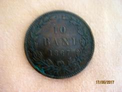 Roumania: 10 Bani 1867 - Rumania