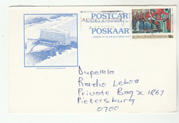 BOPHUTHATSWANA COVER Illus BEACON ISLE HOTEL Plettenberg Bay SLOGAN Pmk ALWAYS FURNISH A RETURN Card Stamps South Africa - Bophuthatswana