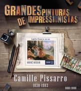 GUINE BISSAU 2015 SHEET CAMILLE PISSARRO ART PAINTINGS ARTE PINTURAS Gb15808b - Guinea-Bissau