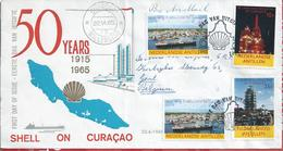 Oil.Huiles.Öl.Ueleg.Olie.Petoleo Da Shell.Shell's 50º Years In Curacao.Oil Industry.Extraction,refinery Of Petroleum.2sc