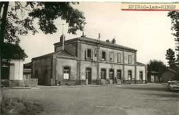 71 - 170517 - REPRODUCTION - EPINAC LES MINES - Gare - France