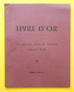34 Béziers 1937 Livre D'Or D'Edouard Barthe Dit Député Du Vin Au Secours Des Vignerons Clichés De Pialles Et Comité - Livres, BD, Revues