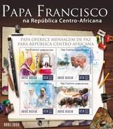 GUINE BISSAU 2015 SHEET POPE FRANCIS PAPE FRANÇOIS PAPA FRANCISCO RELIGION Gb15908a - Guinea-Bissau