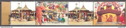 INDIA 2017, MY STAMP, SURAJKUND MELA (Fair), Set 2v SETENANT  With TABs TYPEI (Canopies)  Limited Edition, MNH(**)