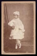 Fotografia EUGENIA DE SOUSA E HOLSTEIN (vestida De Vivandeira Dos Hussardos). CDV Photo J.PLESSIX Lisboa 1874 PORTUGAL - Photos