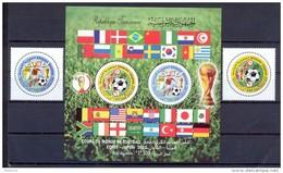 Tunisia/Tunisie 2002 - Stamps + Minisheet  - Football World Cup Korea / Japon 2002 - Tunisia