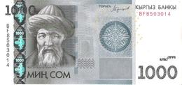 Kyrgyzstan - Pick New - 1000 Som 2016 - Unc - Kirghizistan