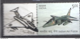 INDIA 2016, MY STAMP, INDIAN AIR FORCE,( 1 Value WithTAB AIRCRAFT)  Fighter Aircraft, Limited Edition, MNH(**)