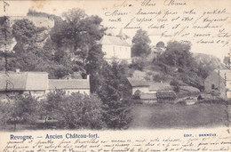 Revogne - Ancien Château-fort (Edit. Banneux, Précurseur, 1903) - Beauraing