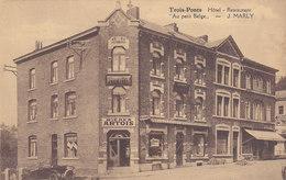 Trois-Ponts - Hôtel Restaurant Au Petit Belge (oldtimer, Travaux) - Trois-Ponts