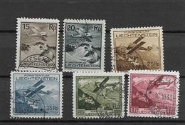 1930 USED Liechtenstein, Airmail