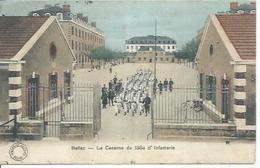 BELLAC - LA CASERNE DU 138ème D'INFANTERIE ( Animées ) - Bellac