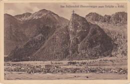 Germany Passionsdorf Oberammergau gegen Notspitze und Kofel
