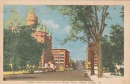 Canada Ottawa Chateau Laurier Looking East To Rideau Street 1950