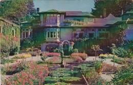 Canada Victoria Italian Gardens and Residence At Butchart Garden