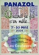 CP 87 PANAZOL QUAND LE FIL S´EN MÊLE 7 AU 10 MAI 2004 - Panazol