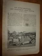 1917 LSELV  Les Autos Militaires Ont également Leur Hôpital   (par Jacques De Luque ) - Vieux Papiers