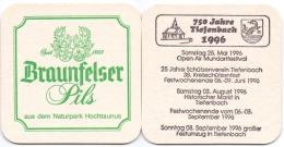 #D142-128 Viltje Schloßbrauerei Braunfels - Sous-bocks