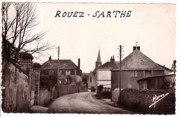 ROUEZ (Sarthe): L'entrée Du Bourg - France