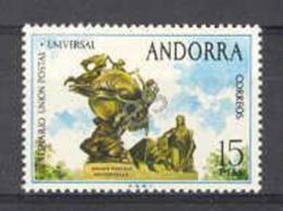Andorra Sp 1974. UPU. E=93 S=83 (**)